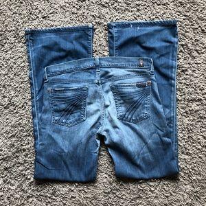 7 for all mankind DOJO light wash denim jeans 30